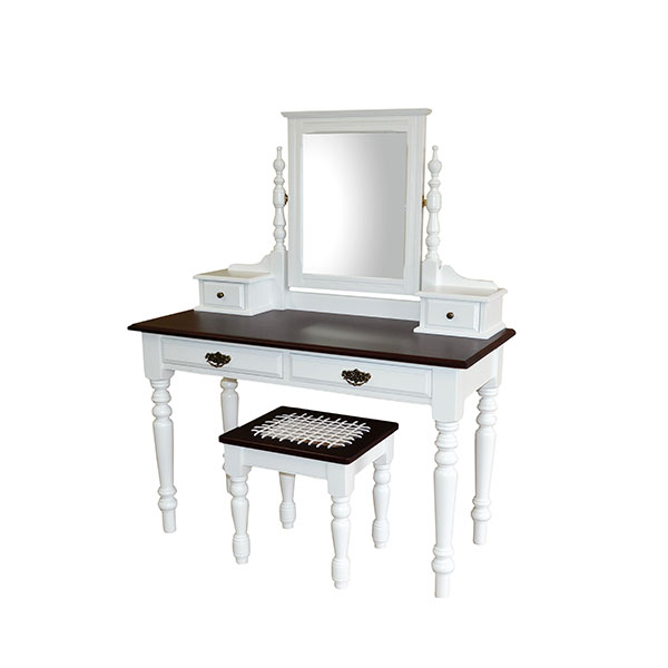 4-Drawer-Dressing-table-and-Stool